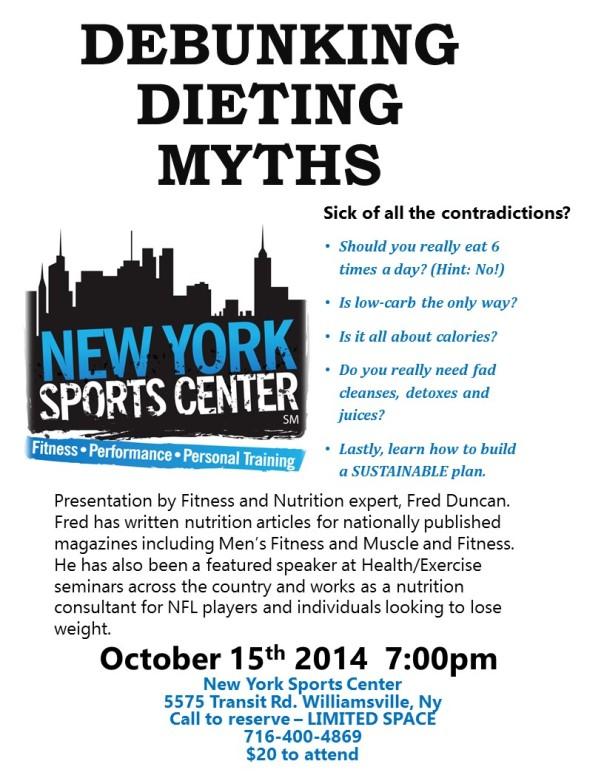 Fall Nutrition Seminar